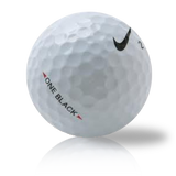 Custom Nike One Black Used Golf Balls - Foundgolfballs.com