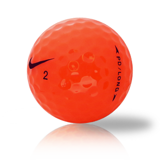 Nike PD Long Orange Used Golf Balls - Foundgolfballs.com