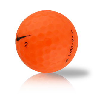 Nike PD Soft Orange Used Golf Balls - Foundgolfballs.com