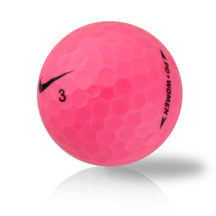 Nike PD Women Pink Used Golf Balls - Foundgolfballs.com