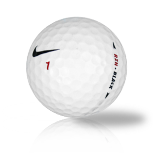 Nike RZN Black Used Golf Balls - Foundgolfballs.com