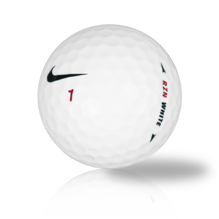 Nike RZN White Used Golf Balls - Foundgolfballs.com