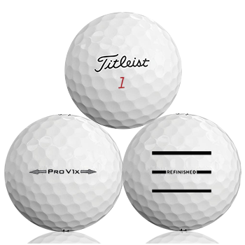 Titleist Pro V1X Refinished (Triple-Line) Used Golf Balls - Foundgolfballs.com