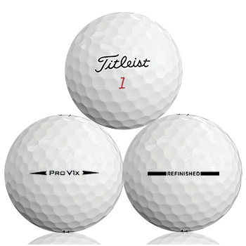 Bulk Titleist Pro V1X 2018 Refinished (Straight Line) Used Golf Balls - Foundgolfballs.com