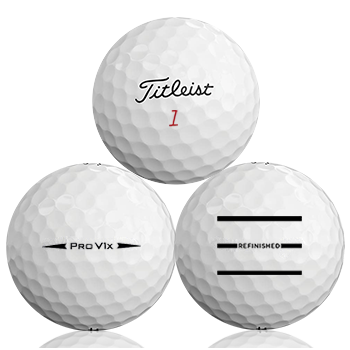 Titleist Pro V1X 2018 Refinished (Triple-Line) Used Golf Balls - Foundgolfballs.com