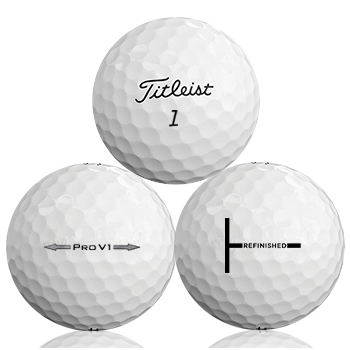 Titleist Pro V1 Refinished (T-Line) Used Golf Balls - Foundgolfballs.com