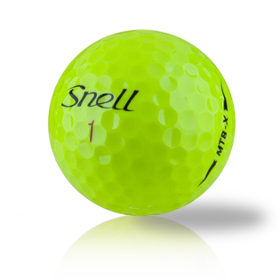 Custom Snell My Tour Ball X Yellow Used Golf Balls - Foundgolfballs.com