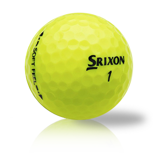 Srixon Soft Feel Yellow Used Golf Balls - Foundgolfballs.com