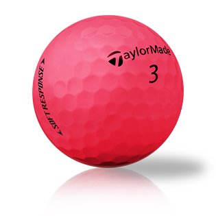 TaylorMade Soft Response Red Golf Balls - Foundgolfballs.com