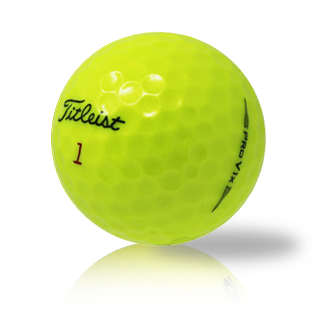 Titleist Pro V1X 2020 Yellow Used Golf Balls - Foundgolfballs.com