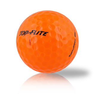 Top Flite Orange Mix Used Golf Balls - Foundgolfballs.com