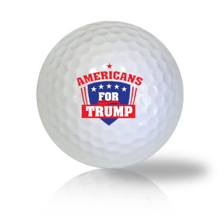 Donald Trump 2020 Golf Balls Used Golf Balls - Foundgolfballs.com