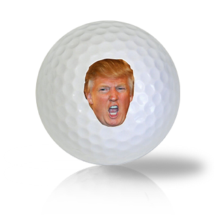 Donald Trump's Face Golf Balls Used Golf Balls - Foundgolfballs.com
