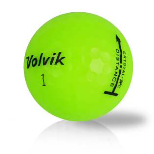 Volvik 3-Piece Distance Crystal Green - 1