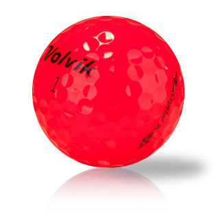 Volvik Crystal Red Used Golf Balls - Foundgolfballs.com