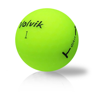 Volvik Vivid Green Used Golf Balls - Foundgolfballs.com