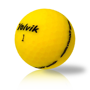 Volvik Vivid XT Yellow Used Golf Balls - Foundgolfballs.com