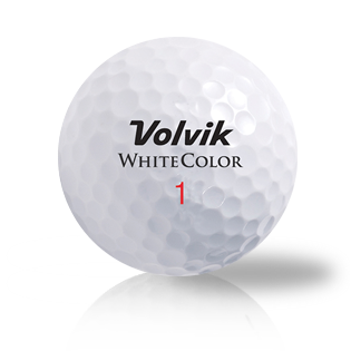 Volvik White Mix Used Golf Balls - Foundgolfballs.com