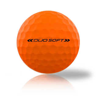 Wilson Duo Soft Optic Orange Used Golf Balls - Foundgolfballs.com