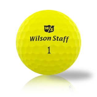 Custom Wilson Staff Yellow Mix Used Golf Balls - Foundgolfballs.com