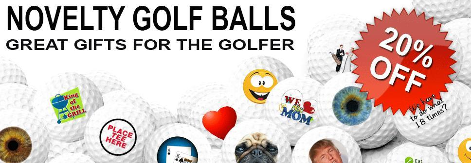 Novelty Golf Balls Starting As Low As $7.99