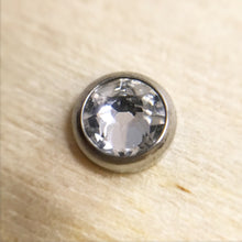 Flat Bezel Set Crystal 1.6mm Attachments