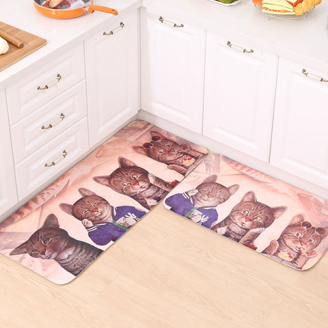 Cartoon Cat Carpet