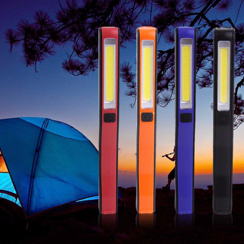 2 in 1 USB Rechargeable LED Camping Light