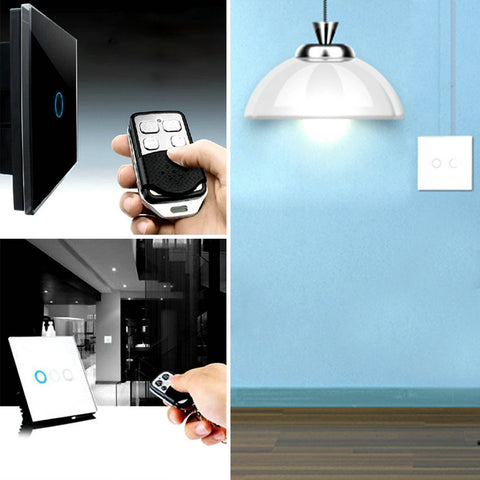 Smart Remote Control Crystal LED  Wall Light