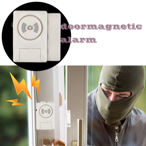 4 Pcs Wireless Door & Window Burglar Alarm