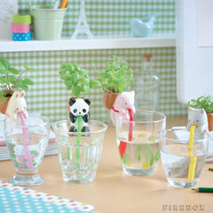 1Set/4pieces Self-Watering Animal Planter