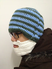 Beard Hat Knit Beard Hat