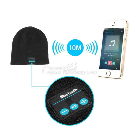 Bluetooth Smart Cap Headset Speaker Mic