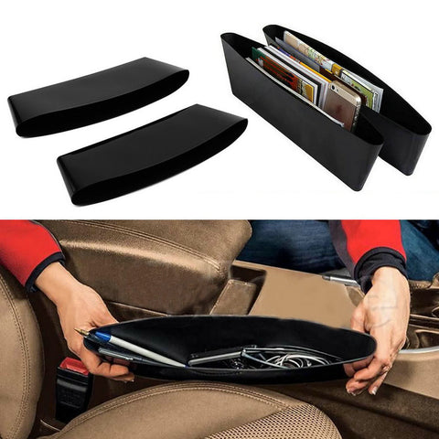 2 Pcs Car Seat Pocket Organizer