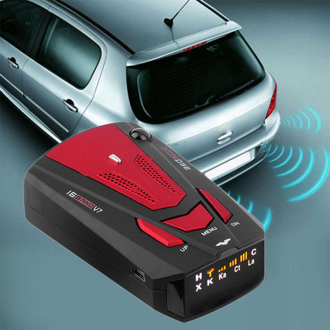 360 Degrees Car Radar Detector
