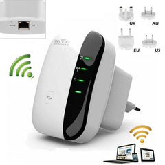 300Mbps Wifi Repeater & Signal Extender Booster