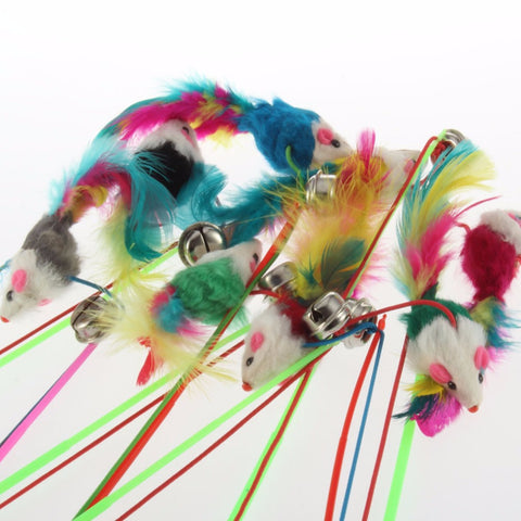 2 Pcs Feather Teaser Wand