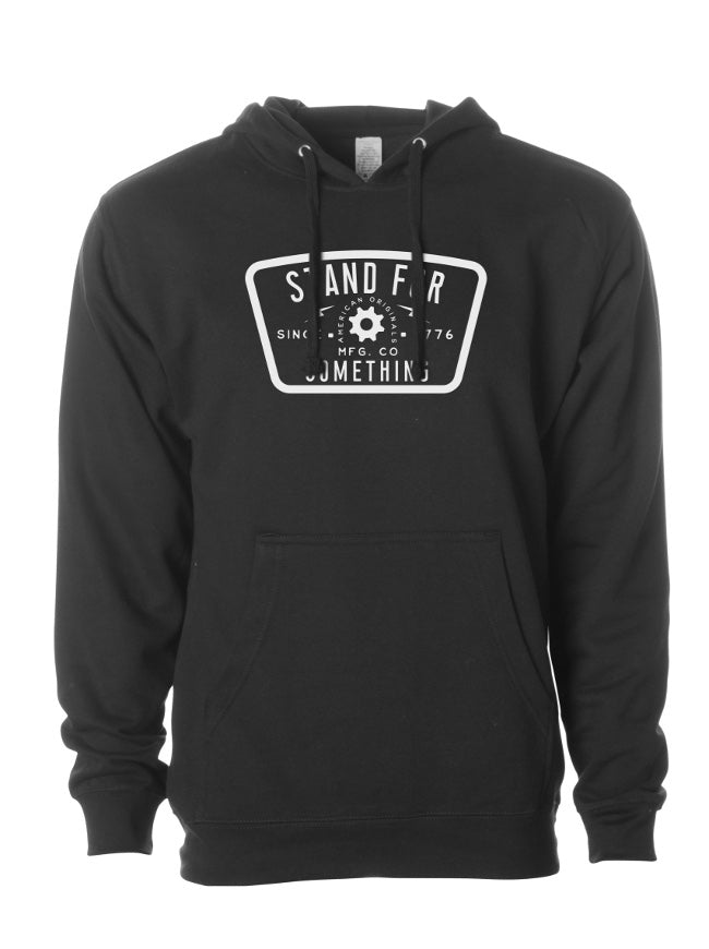 Stand For Something Blue Collar Mindset Hoodie