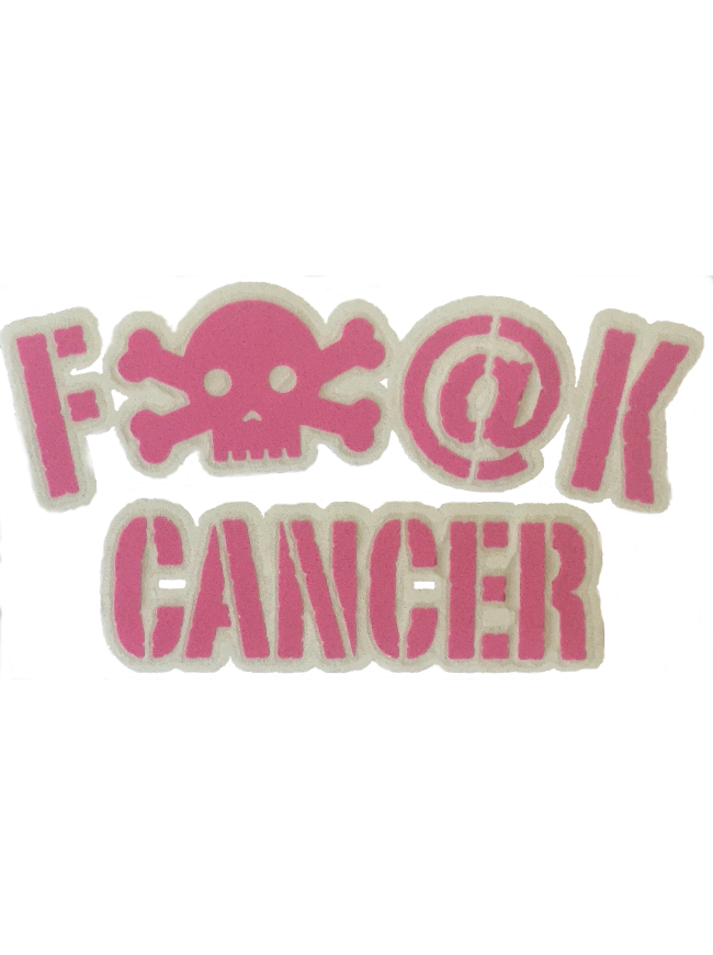 Cancer Awareness Sticker F-Cancer