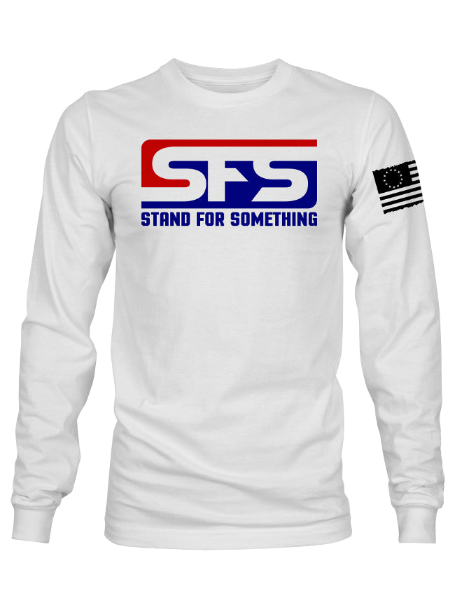 Stand For Something Long Sleeve American Original Men's T-Shirt