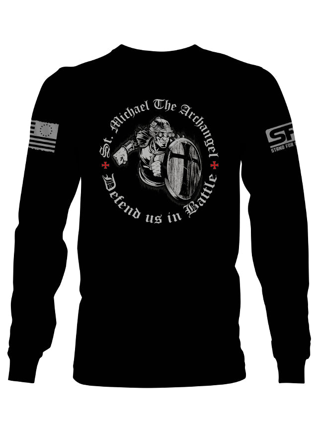 Stand For Something Long Sleeve St. Michael Men's T-Shirt
