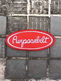 Black Multi-Cam Purpose Bilt velcro patch