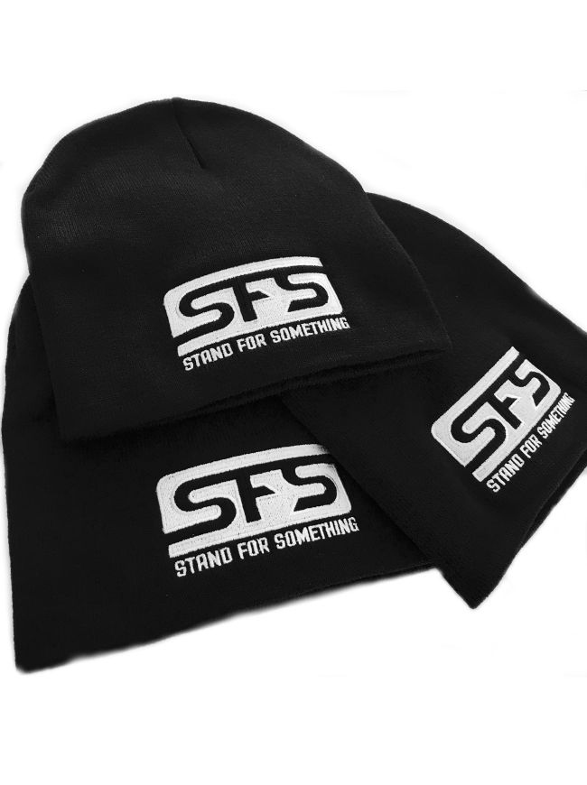 Stand For Something SFS Logo Beanie