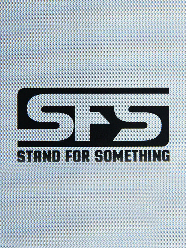 SFS Satin Black Custom Cut sticker
