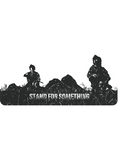 Stand For Something Troops Die Cut Sticker