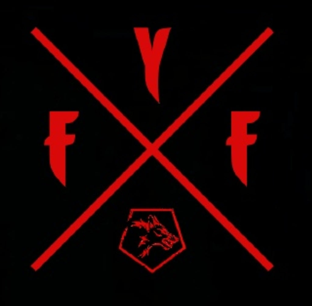 FYF CROSS STICKER