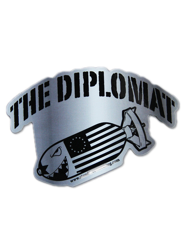 The Diplomat Sticker
