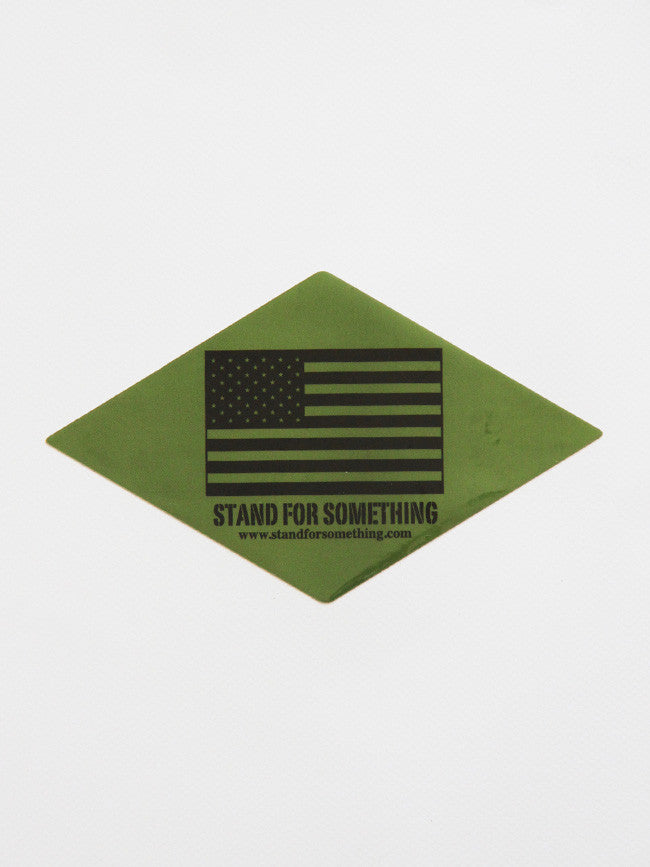 Stand For Something SFS Subdued American Flag Sticker