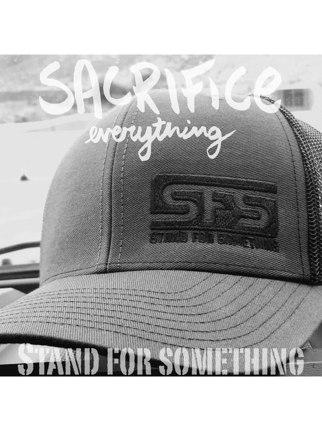 Stand For Something SFS Logo Snap Back