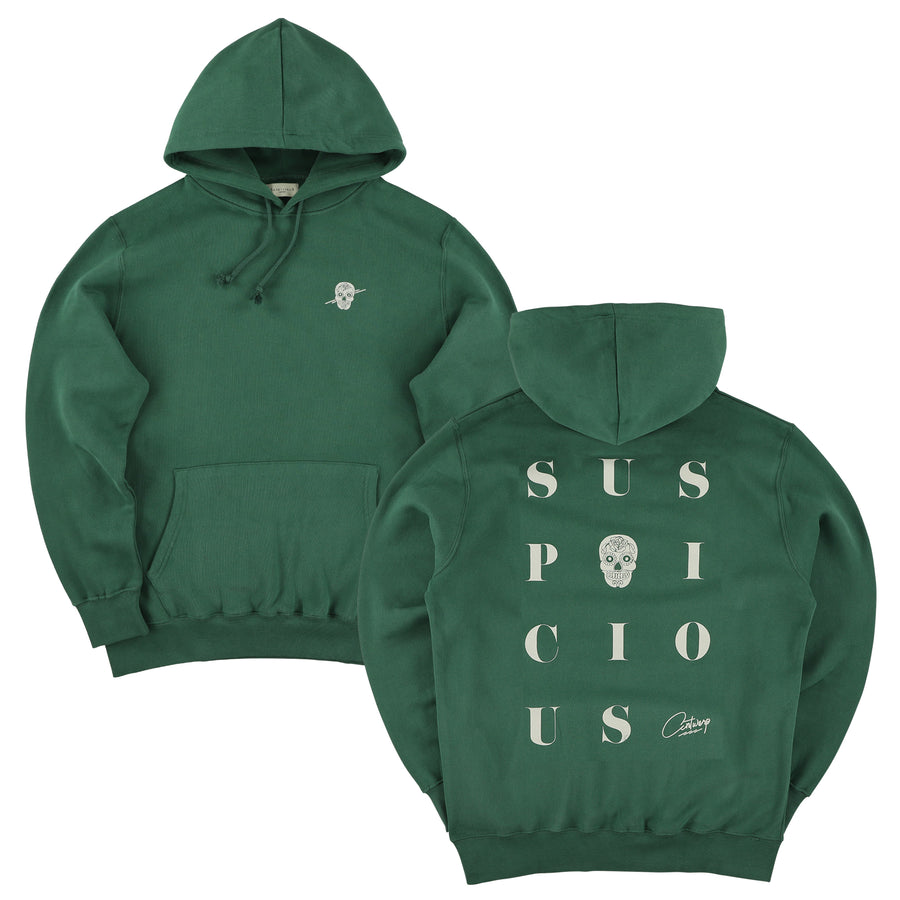 The Playground Hoodie - Green // Off-White